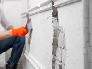 We can assit with plaster wall repair