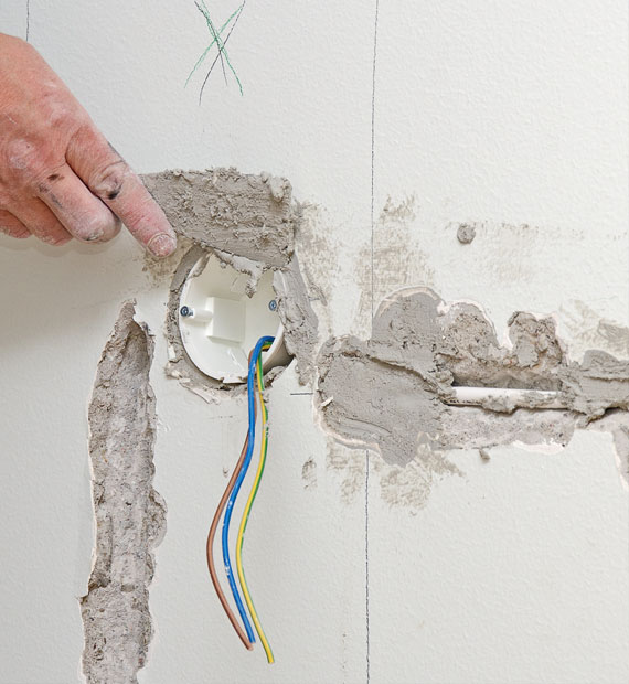 contact us for wall repair in perth